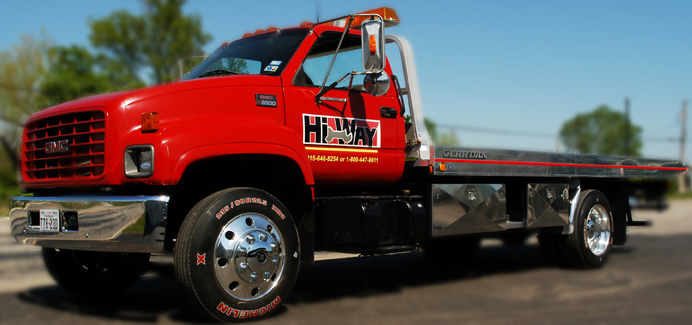 hi-way-auto-parts-tow-wrecker