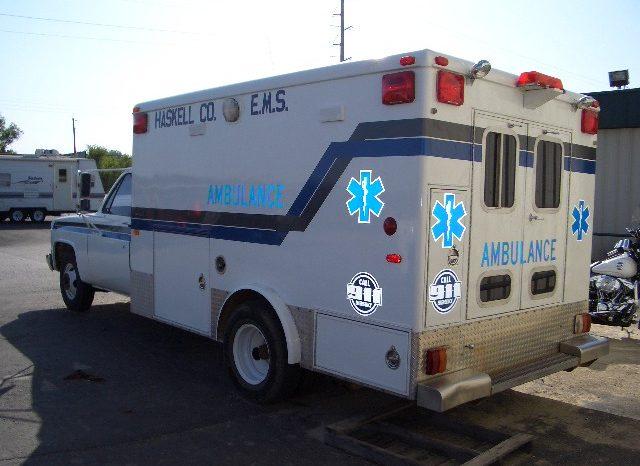 "1987 GMC Ambulance ""Ready To Go"" full"